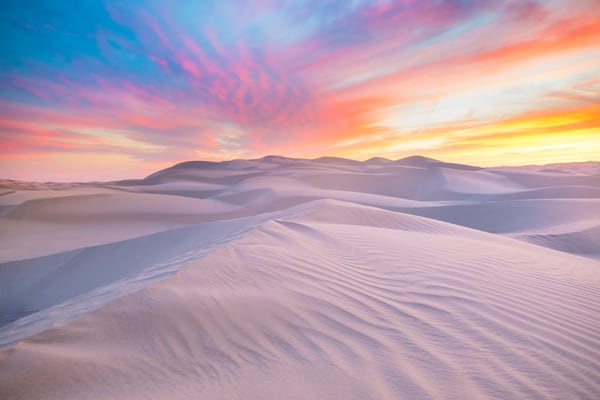 Desert Twilight Photography Art | Laura Tidwell Photography