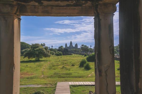 A Quiet Corner at Angkor Wat | Susan J Photography