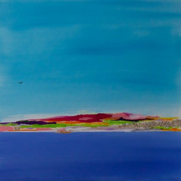 Le Grand Bleu Art   Lesley Koenig Studio
