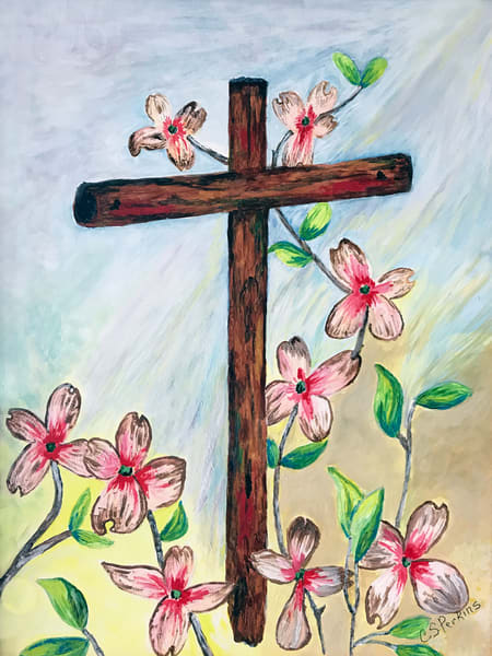 CPerkins - Pink Dogwoods at the Cross