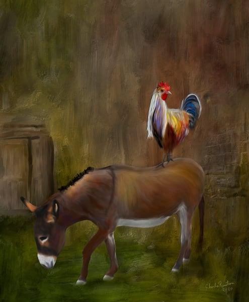 Chicken Burrito Art | chuckrenstrom.com