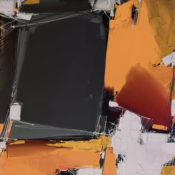 Quartertone In Rawhide Art | Michael Mckee Gallery Inc.