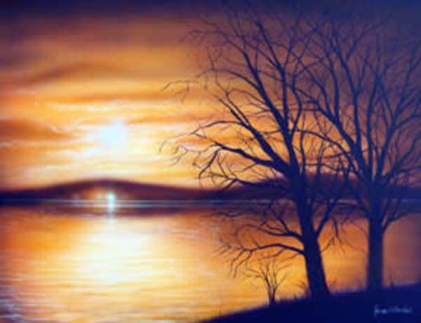 Secret Place is an oil painting on the water by James Loveless Jr.