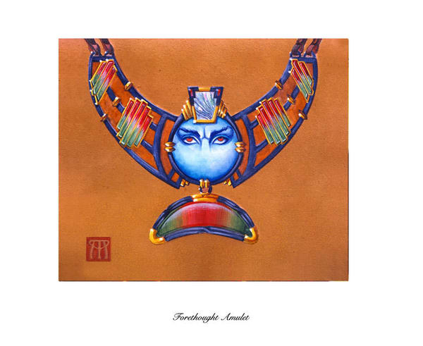 Forethought Amulet Limited Edition Print