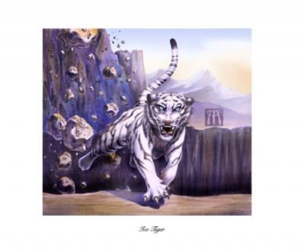 Ice Tiger Limited Edition Print