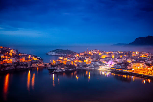 Evening In A Fishing Village Photography Art | Laura Tidwell Photography
