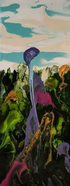Plenty in My Garden Abstract by Terry Rosiak