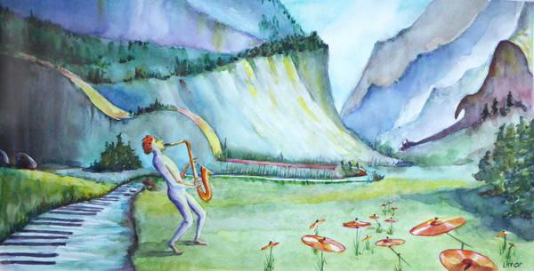 Musical Landscape Art | Limor Dekel Fine Art