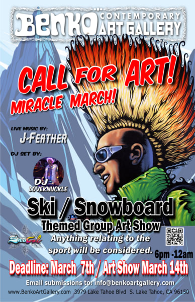 Call for art miracle march poster fnn5qf
