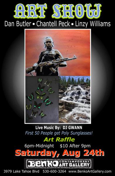 Art show 8 24 19 poster ymkpyo