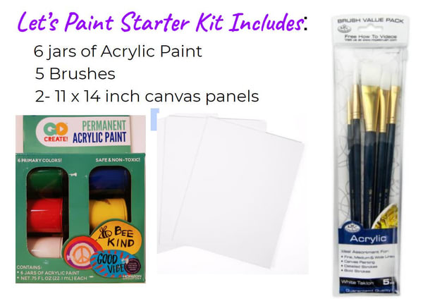 Let's Paint Starter Kit  Free Shipping | Kevin Lang Fine Art