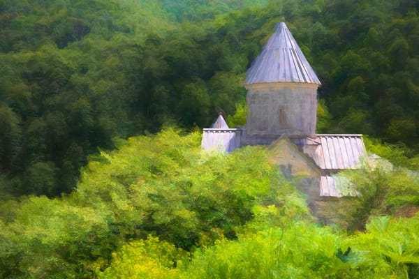 Monastery In The Hills Photography Art | Laura Tidwell Photography