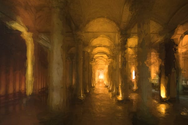 Basilica Cistern Photography Art | Laura Tidwell Photography