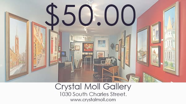 Cmg $50 Gift Card | Crystal Moll Gallery