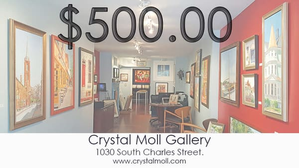 Cmg $500 Gift Card | Crystal Moll Gallery
