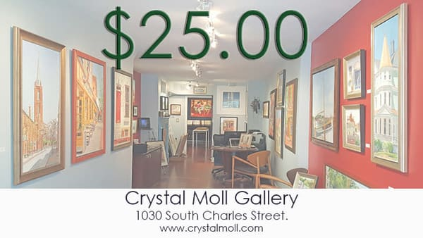 Cmg $25 Gift Card | Crystal Moll Gallery