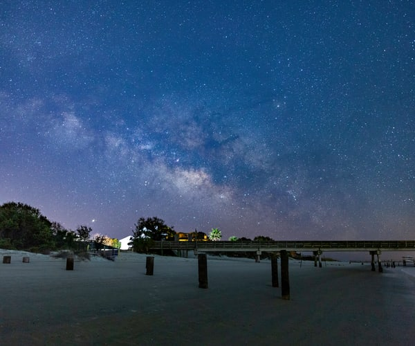 Back River Milky Way