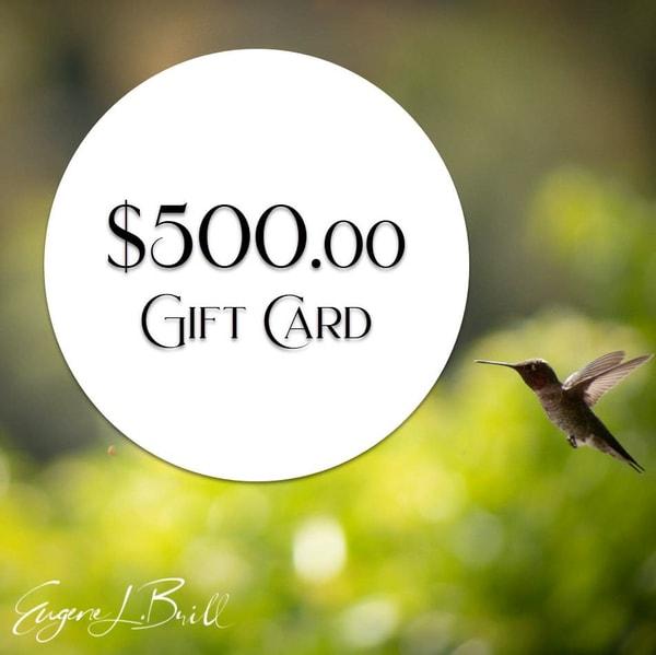 Eugene Brill $500 Gift Card Fine Art Photography | Eugene L Brill