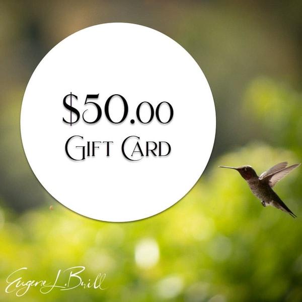 Eugene Brill $50 Gift Card Fine Art Photography | Eugene L Brill