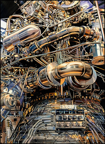 Rocket Art | Allan Gorman Fine Art