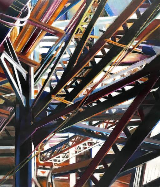 Jungle At The Junction Art | Allan Gorman Fine Art