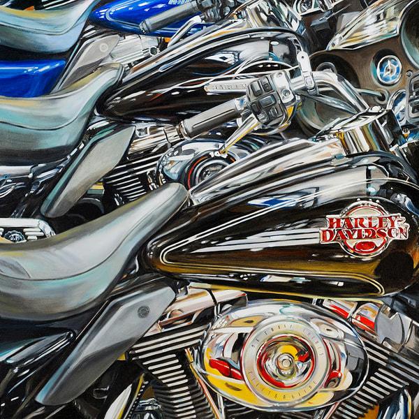 Three In A Row Art | Allan Gorman Fine Art