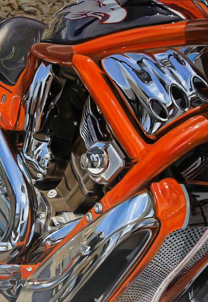 Red And Black Eagle Art | Allan Gorman Fine Art