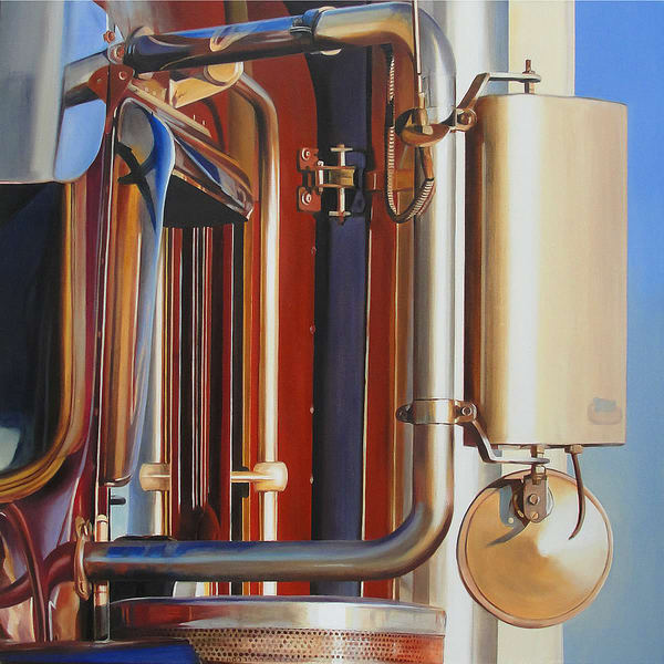 Red, White And Blue Art | Allan Gorman Fine Art