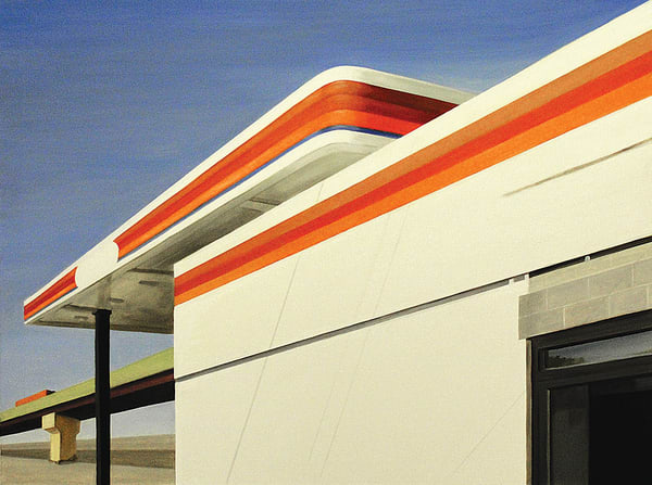 No Gas For Miles Art | Allan Gorman Fine Art