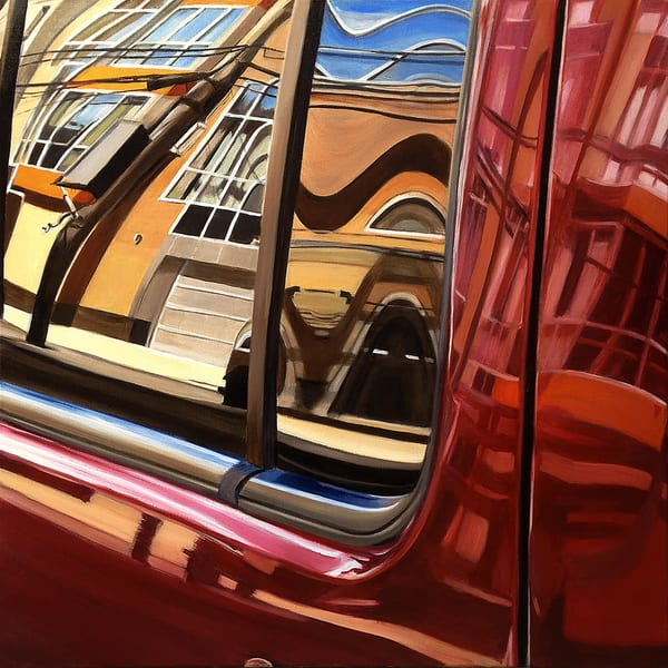 Williamsburg Red Art | Allan Gorman Fine Art