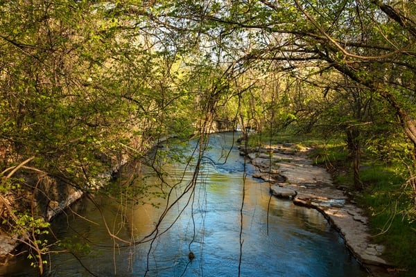 Spring River Photograph in the Quaker Mill Area  | Koral Martin Fine Art Photography | Missouri  Photos