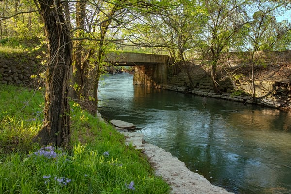 Spring River River Near Quaker Mill 9613 Fs Photography Art | Koral Martin Fine Art Photography