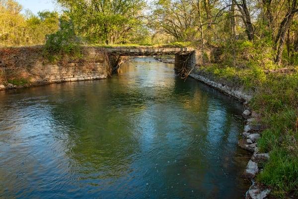 Quaker Mill Bridge 9623 Fs Photography Art | Koral Martin Fine Art Photography