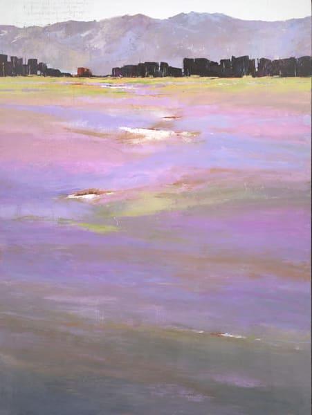 Moments, original landscape painting by Sarah B Hansen