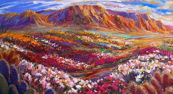 Glorious Desert Bloom Art | Michael Mckee Gallery Inc.