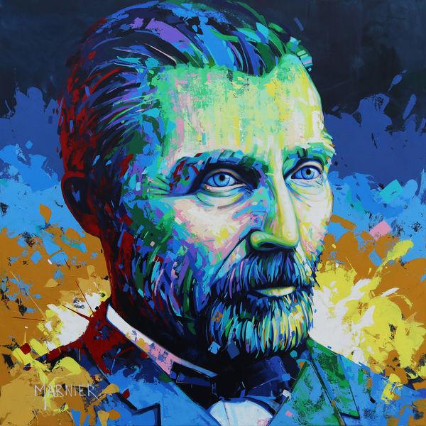 Vincent Van Gogh, Marnier, Acrylic painting, Art, Original