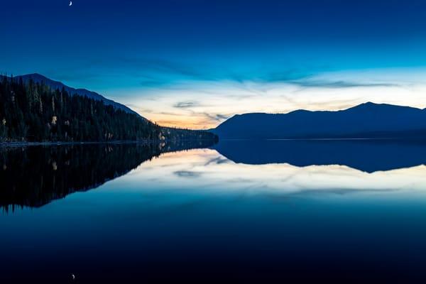 Last Light on Lake McDonald