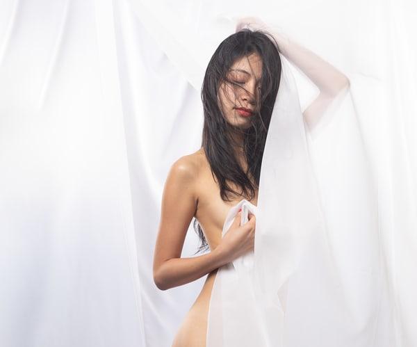 Fantasia In White 2 Photography Art | Dan Katz, Inc.