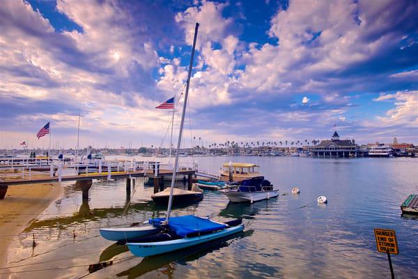 Balboa Pavilion And Boats Art | Shaun McGrath Photography