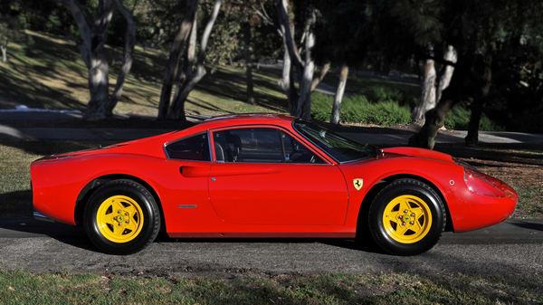 Ferrari Dino 246 Gt Photography Art | Shaun McGrath Photography