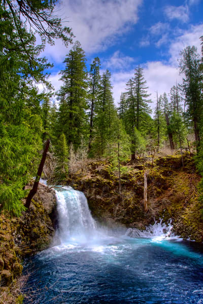 Waterfall At The Blue Pool Photography Art | Shaun McGrath Photography