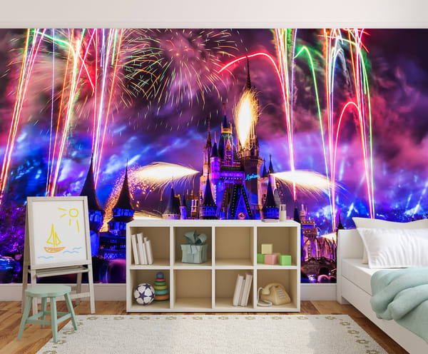Happily Ever After 9 - Disney Castle Wall Mural