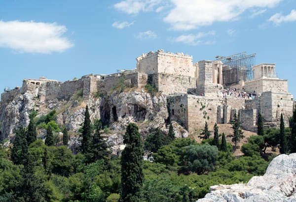 Acropolis From Areopagus, Athens Art | Best of Show Gallery