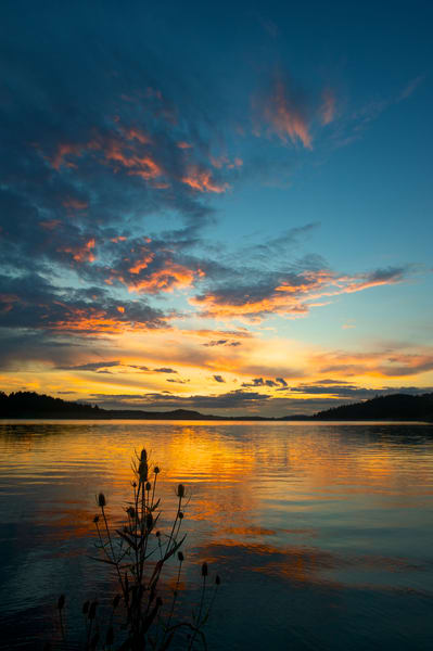 Dexter Lake Sunset Art | Shaun McGrath Photography