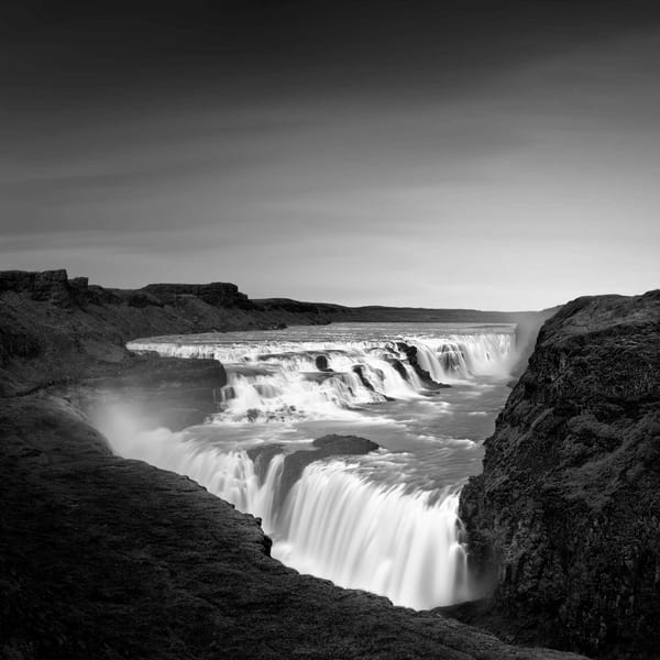 Gullfoss Photography Art | DE LA Gallery
