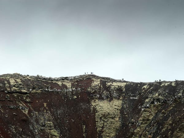 Crater Hike Photography Art | DE LA Gallery