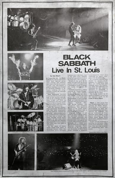 Black Sabbath Live in St. Louis