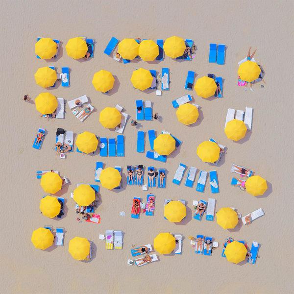 Yellow Umbrellas Photography Art | DE LA Gallery