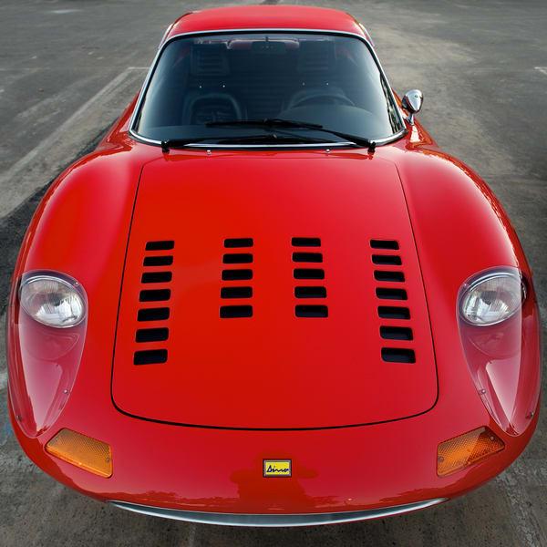 Red Ferrari Dino Art | Shaun McGrath Photography