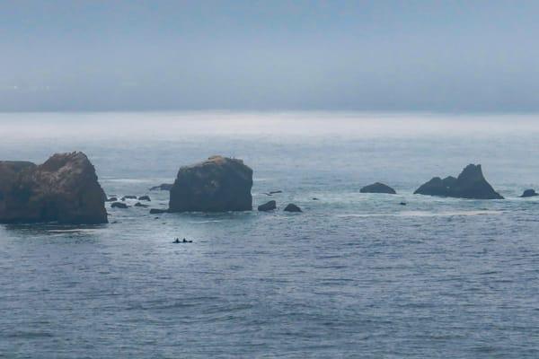 Foggy Coast 3 of Many, Rockaway Beach, Pacifica, CA